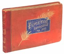 Exposition Universelle. 1889. Paris. 27x18,5 cm. France. In the composite cover with gold lettering.