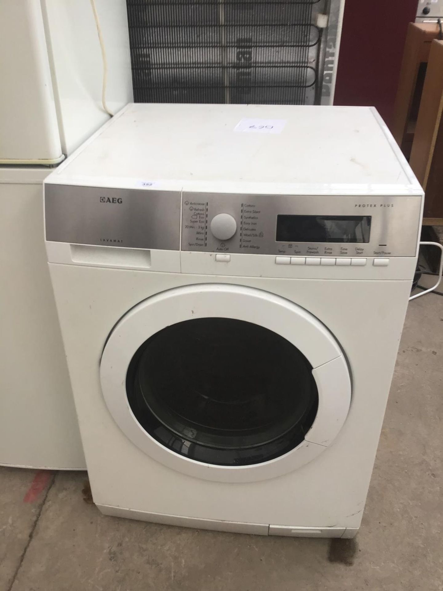 Lot 352 - A PROTEX PLUS WASHER IN WORKING ORDER