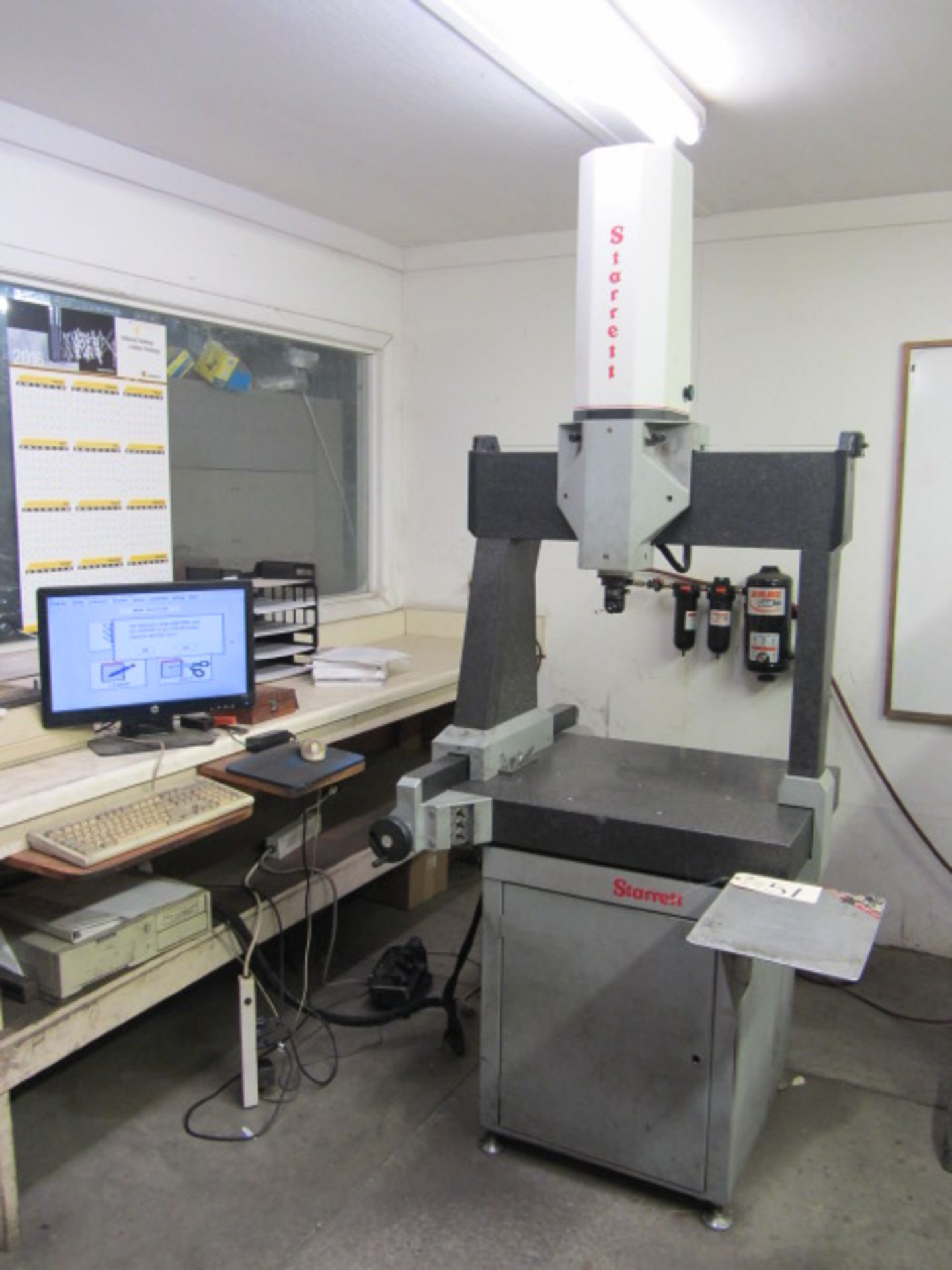 "Lot 51 - Starrett Model BT1820-16 Coordinate Measuring Machine with 24"" x 26"" Granite Table Work Area,"