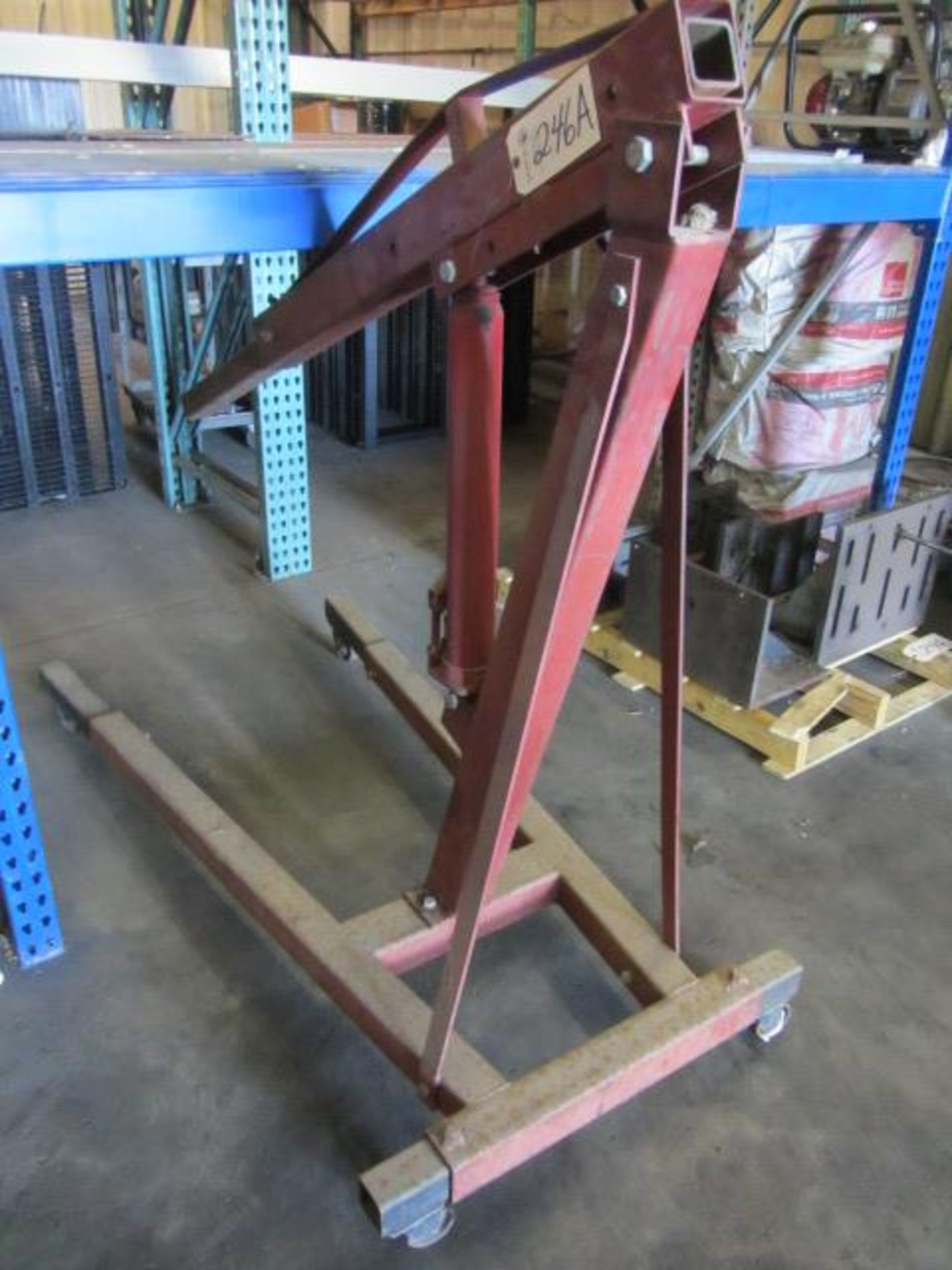 Lot 246A - Model LRI3R 3 Ton Portable Engine Stand