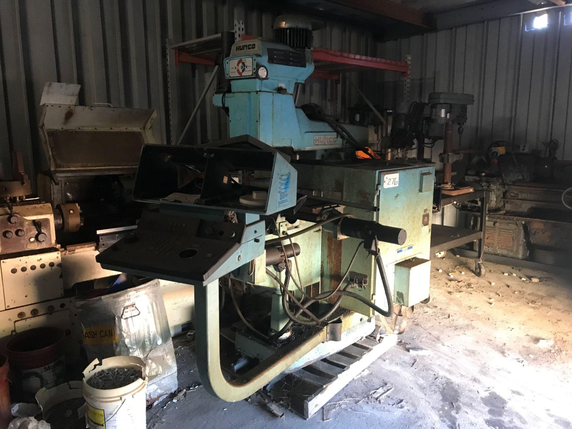 Lot 276 - Hurco Milling Machine (under repair in shed)