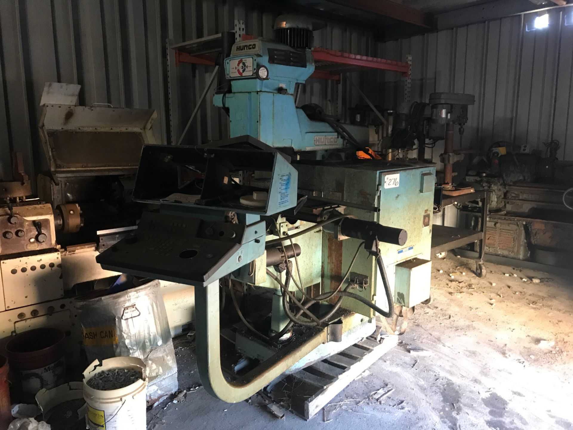 Lot 276 - Hurco Milling Machine  (under repair in shed)