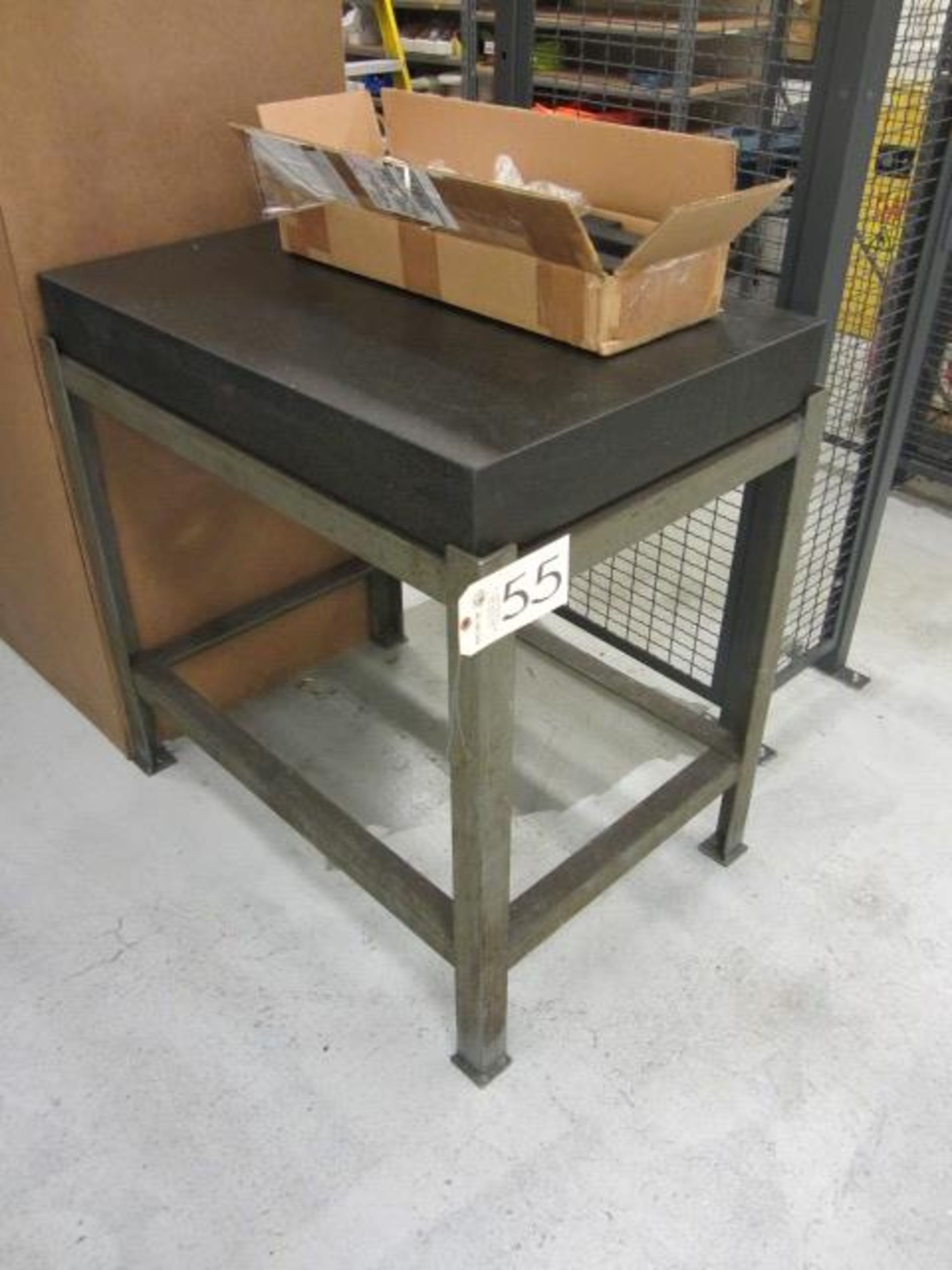 Lot 55 - 24'' x 36'' Surface Plate with Stand