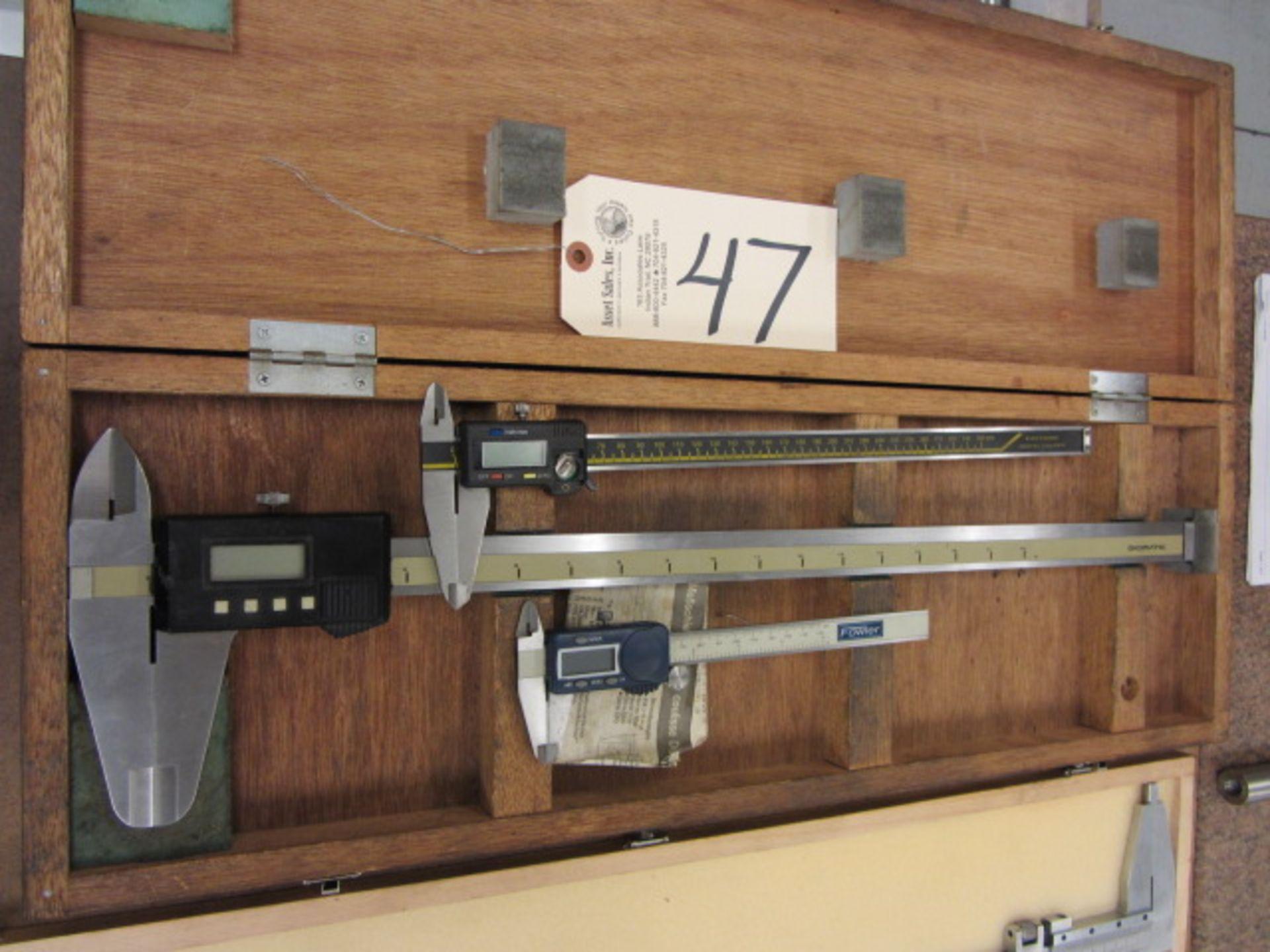 Lot 47 - 18'' Digital Caliper, 300mm Digital Calipers