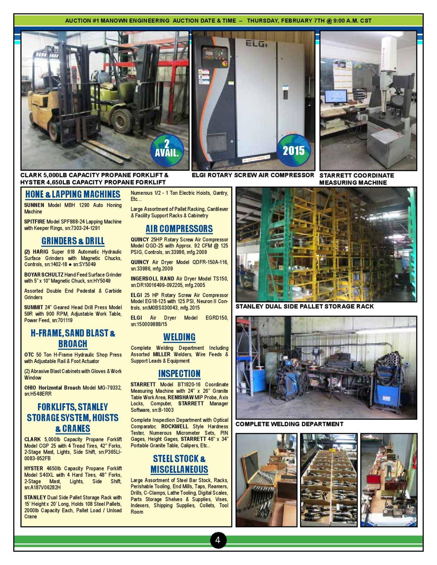 Lot 0 - Walk Thru Video for CNC & Machine Shop Equipment