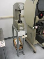 Lot 57 - Rockwell (Styled) Model HR-150A Hardness Tester with Stand, B/C Scale, sn:025