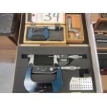 Lot 34 - 0''-3'' Micrometers