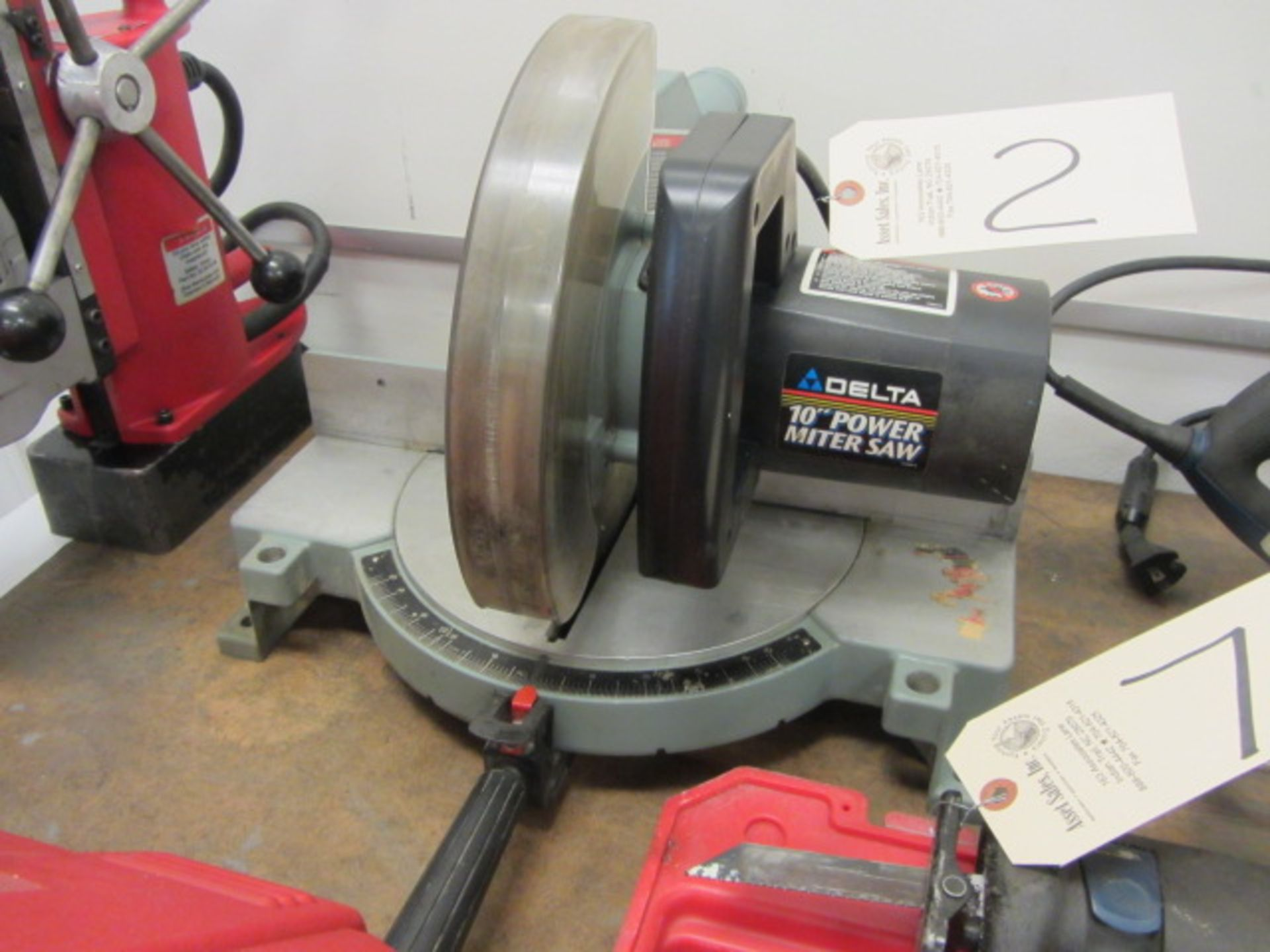 Lot 2 - Delta 10'' Power Mitre Saw