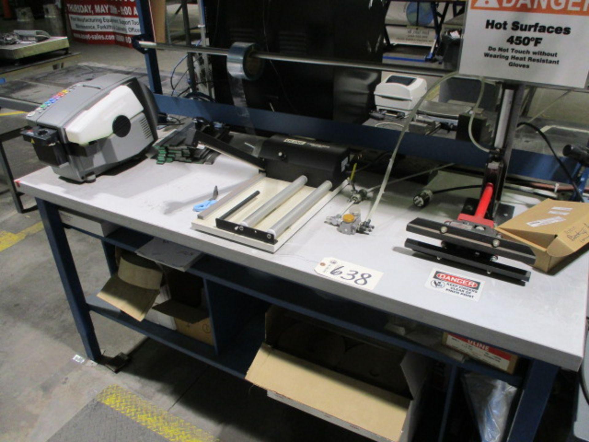 Lot 638 - (2) Sealers, BetterPak Tape Machine