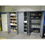 Lot 639 - (4) Cabinets with Shipping Supplies