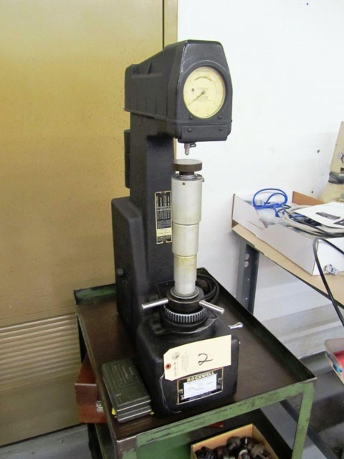 Lot 2 - Wilson Model 4JR Hardness Tester, sn:6119
