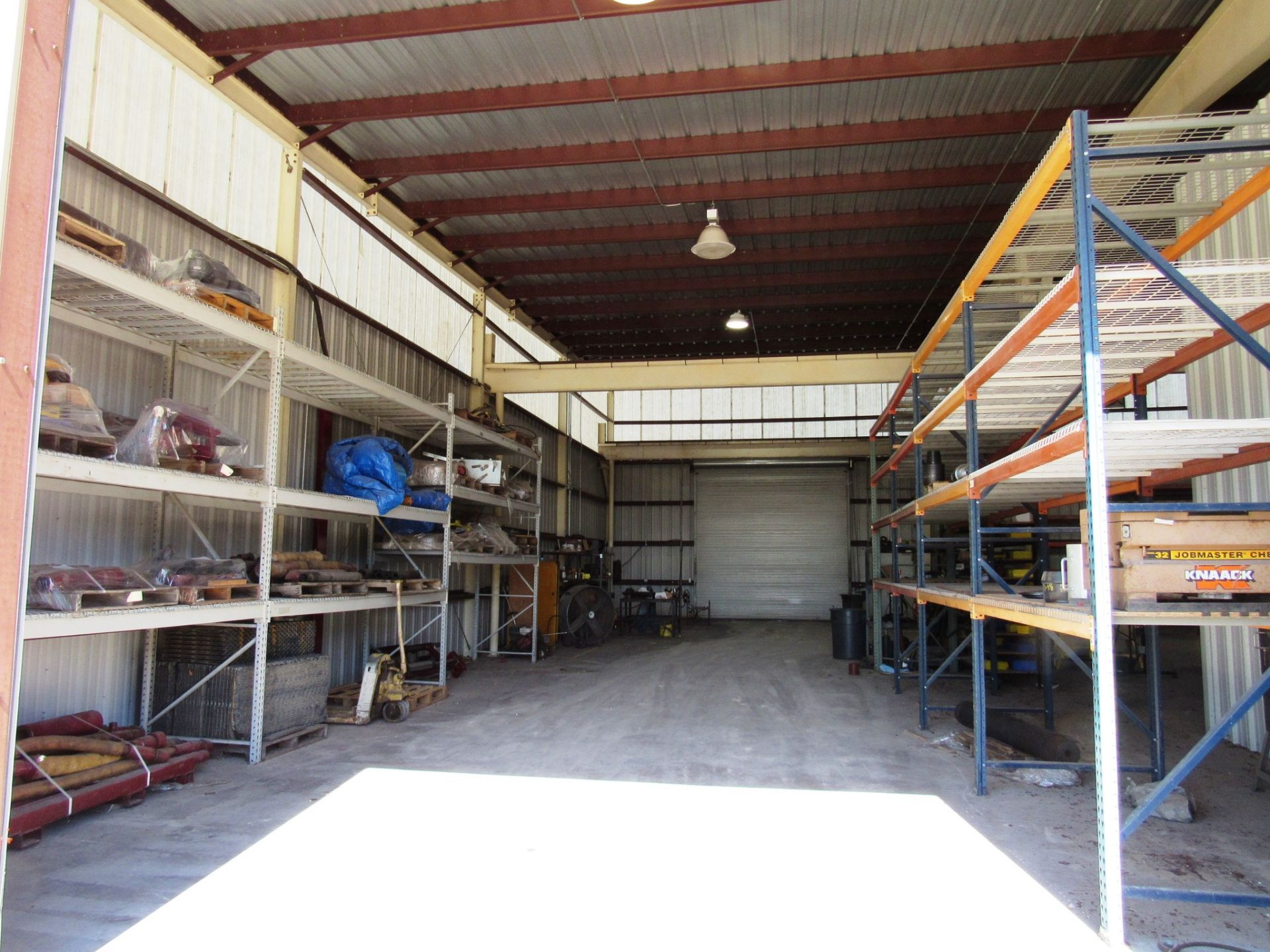 Lot 43 - 7 Sections Pallet Racking (no contents)