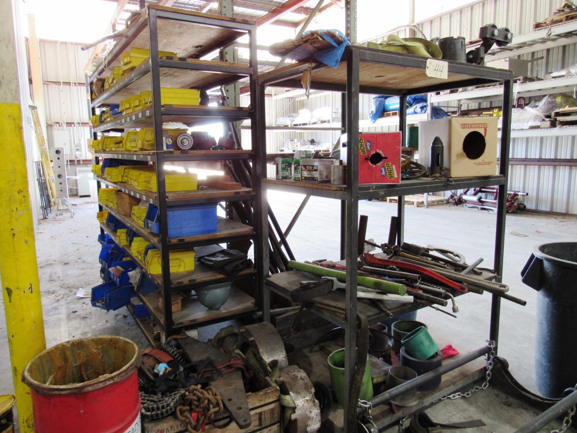 Lot 44 - (4) Steel Shelves