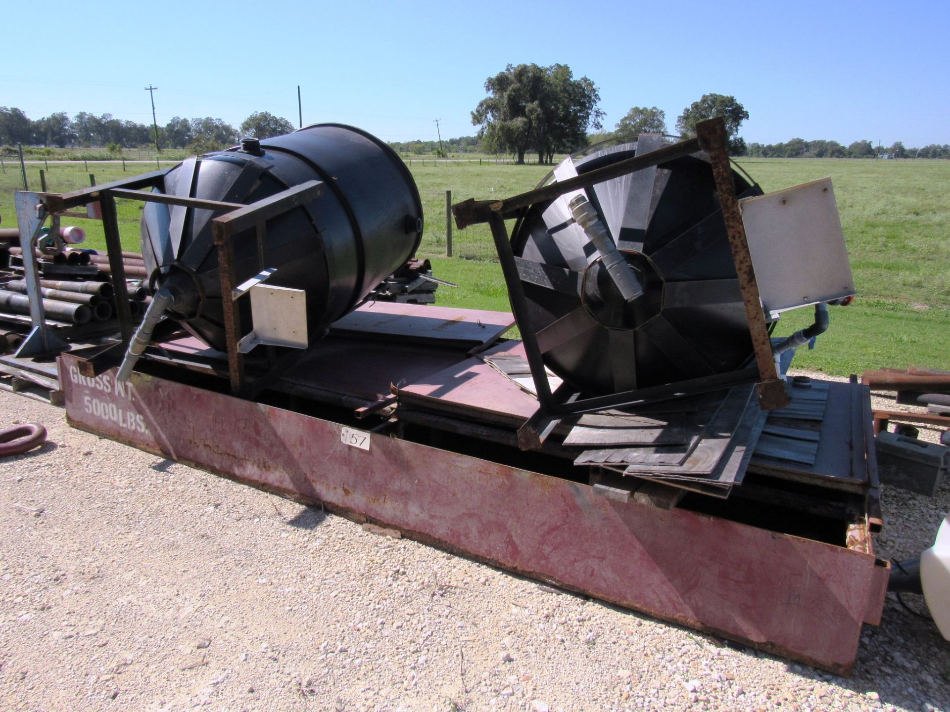 Lot 57 - Wash Containment Pad