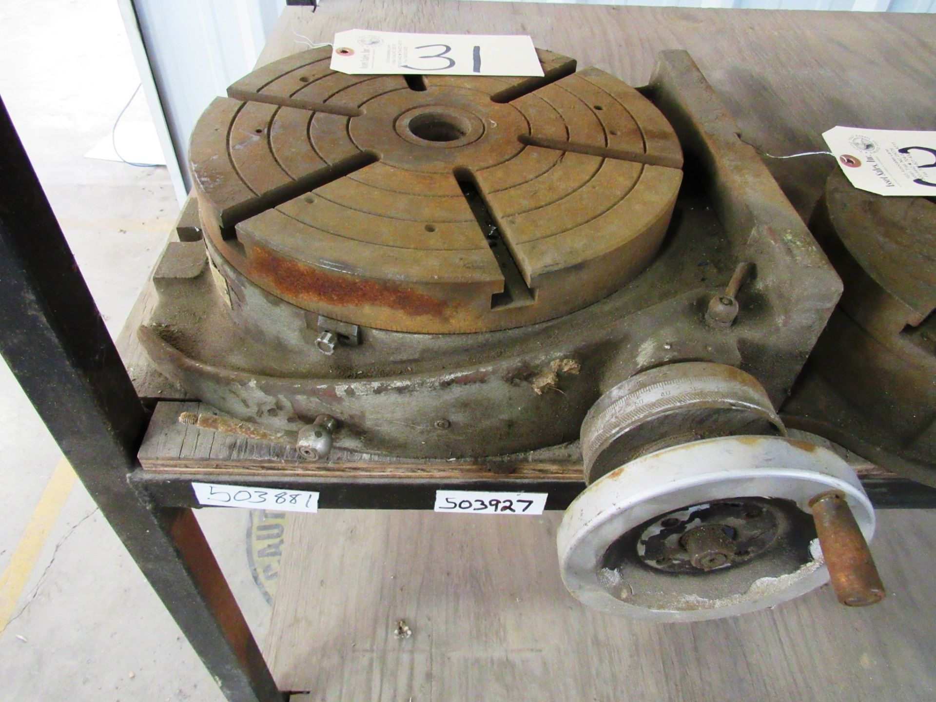 Lot 31 - 12'' Rotary Table