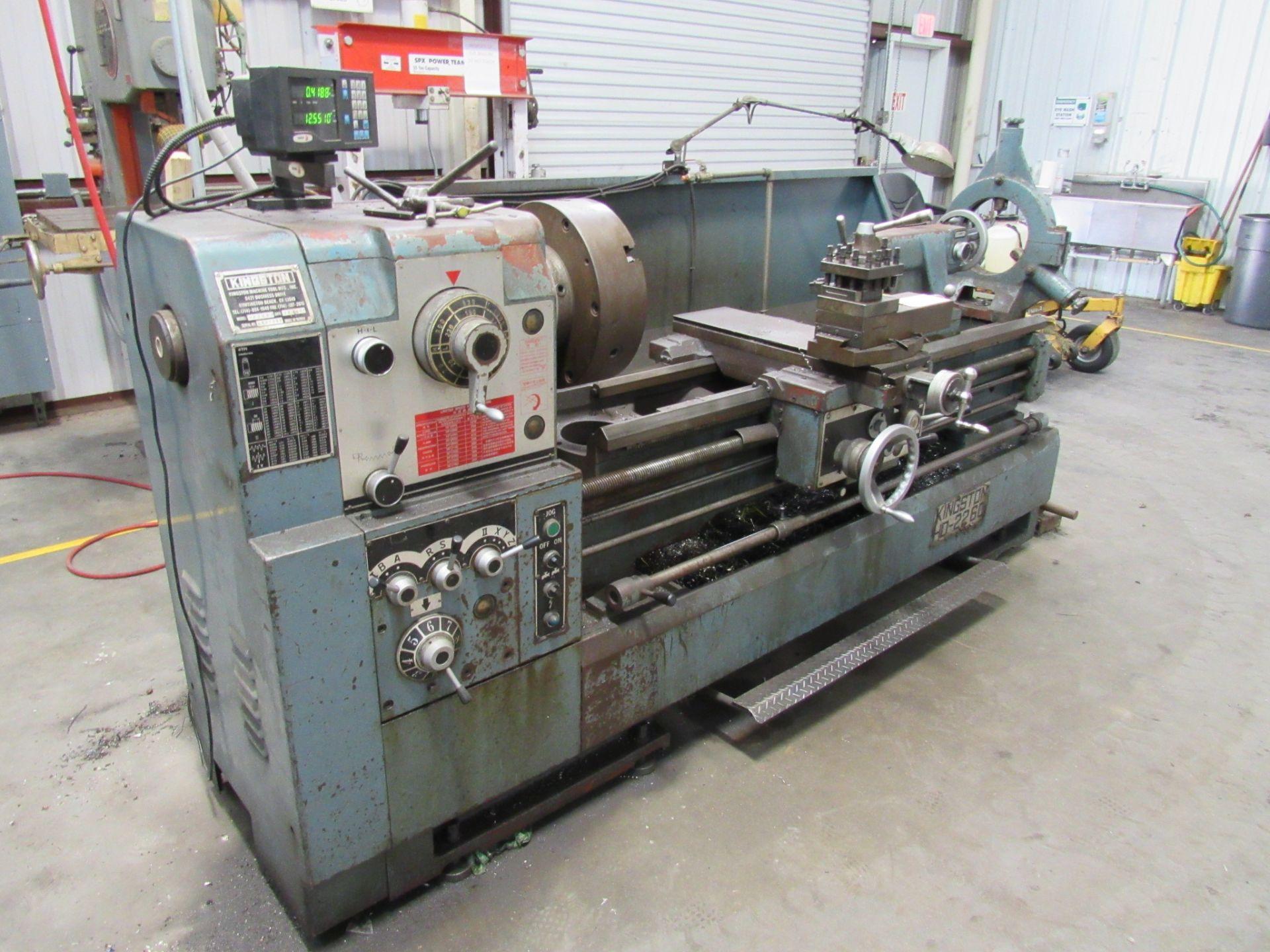 Lot 17 - Kingston Model HD-2260 22'' x 60'' Heavy Duty Engine Lathe