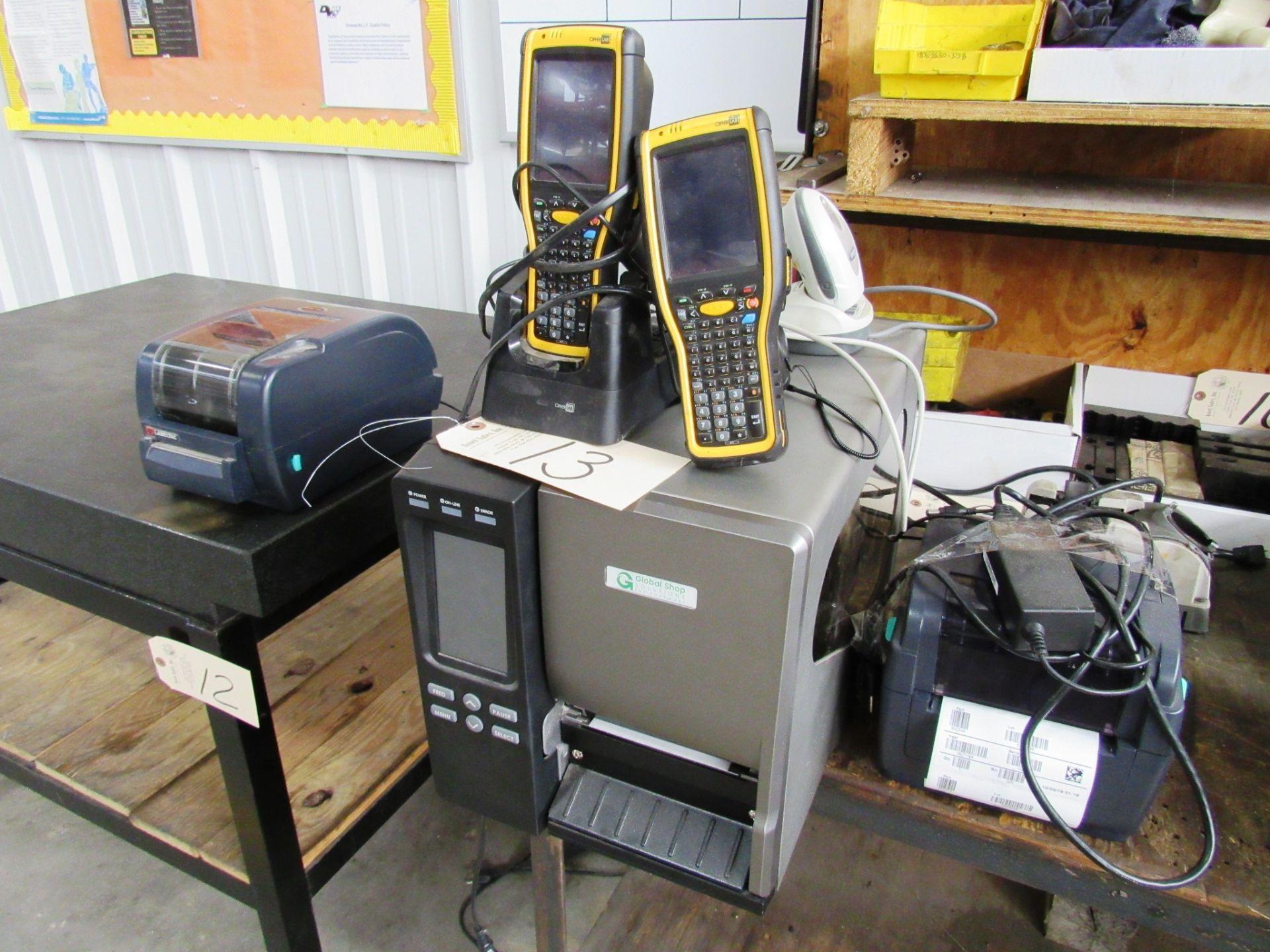 Lot 13 - Global Shop Model GSS-Label-PTR-1 Barcode & Printer Inventory System