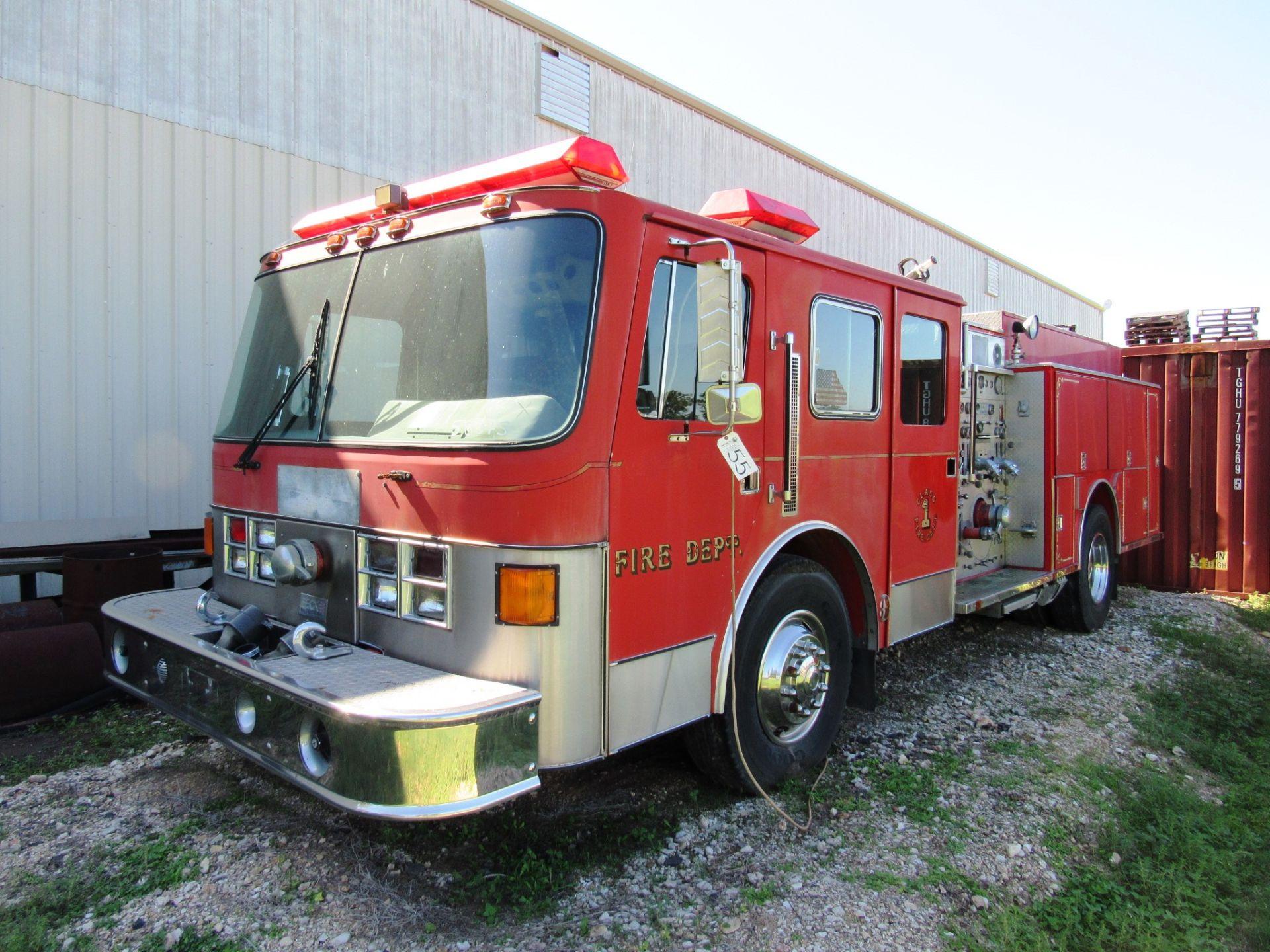 Lot 55 - Ottawa / Beck Fire Truck