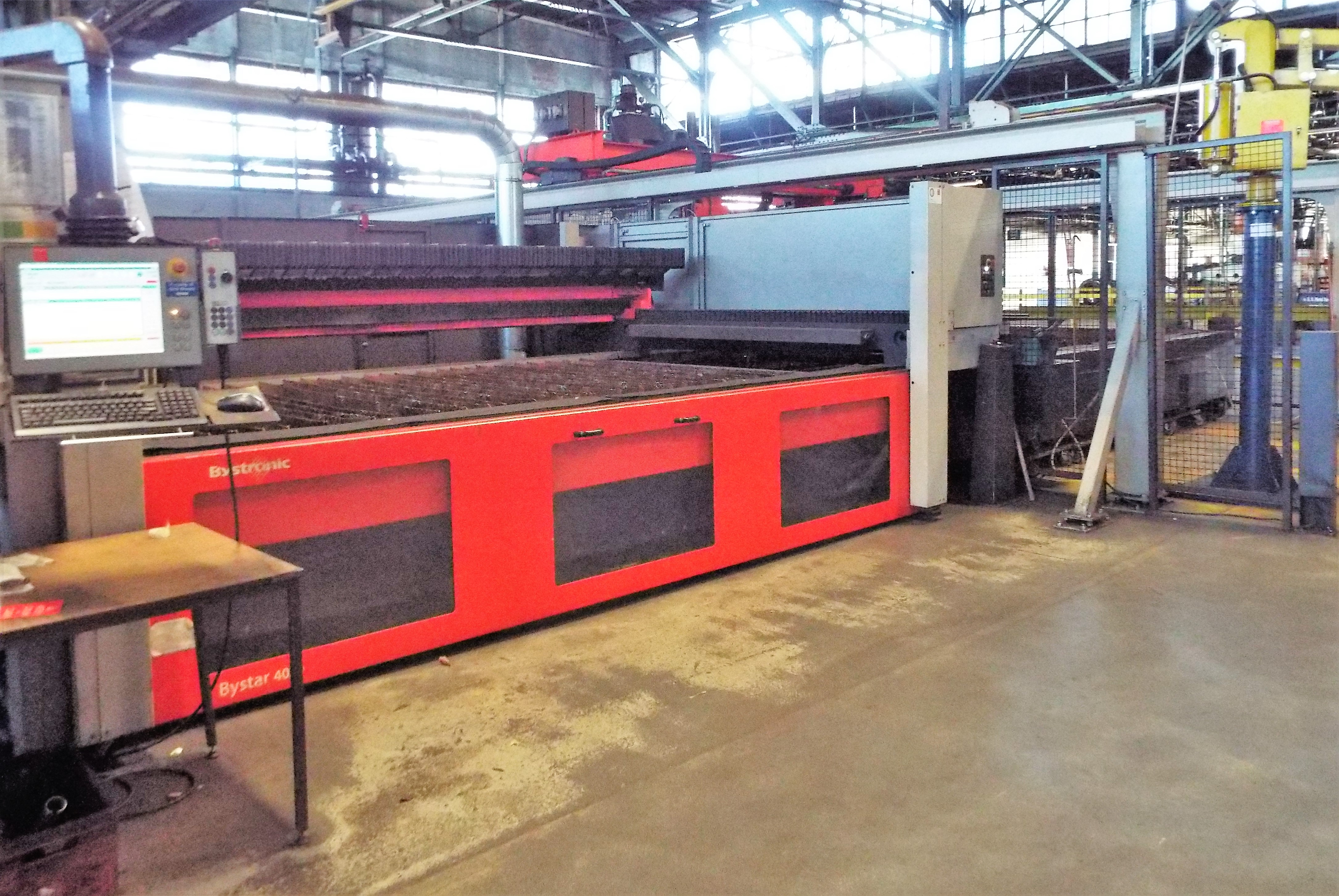 Lot 1d - Bystronic 4020 Laser Cutting Cell