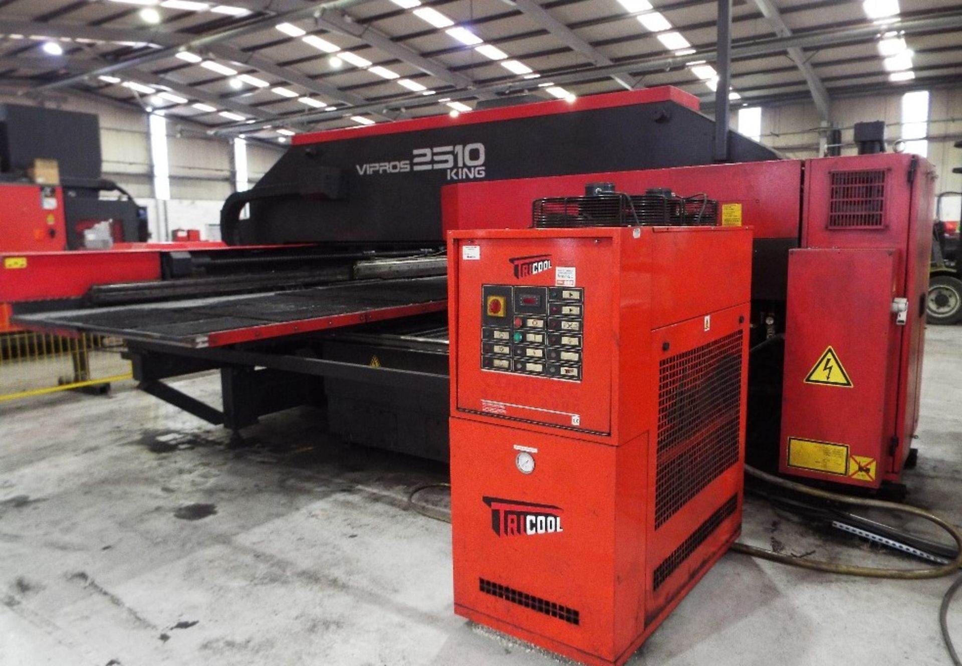 Lot 5 - Amada Vipros 2510 King Turret Punch Press Cell