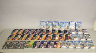 Forty six Star Wars figures by Kenner, Tomy, Hasbro etc,
