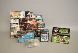 Three Star Wars Return Of The Jedi sets which includes; Sy Snootles and the Rebo Band by Palitoy,