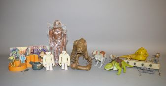 Star Wars Kenner figure collection and playset,