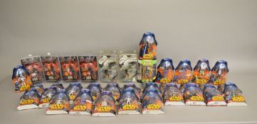 Thirty nine Star Wars figures, a mixed lot which includes; Revenge of the Sith series, Clone Pilot,