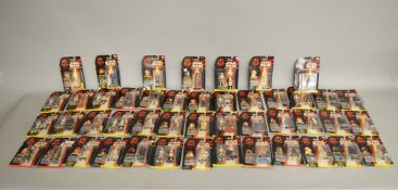 Forty six Star Wars Episode 1 figures by Hasbro from Collection 1, 2 and 3, which includes; C-3PO,