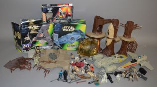 A good quantity of Star Wars related items including twenty six loose figures,
