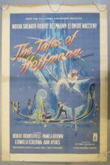 Lot 105B - The Tales of Hoffmann 1951 British one sheet film poster written,