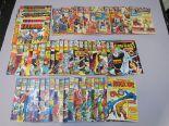 Lot 267 - Marvel comics including The Complete Fantastic Four no 1 (Sept 28 1977) thru 2, 6, 7, 12, 16, 17,