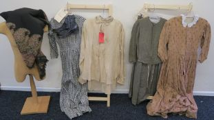 """""""Free State of Jones"""" (2016) screen used film costumes belonging to the character """"Rachel"""" played"""