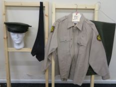 """""""Annabelle Creation"""" (2017) screen used Adam Bartley """"Officer Fuller"""" costume comprising """"Lancaster"""