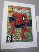 Stan Lee hand signed Spider-man Torment date of release October 2013 with art by Todd McFarlane,