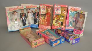 EX-SHOP STOCK: Seven Pedigree Sindy Fashion Dolls,