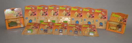 EX-SHOP STOCK: Fourteen Mattel The Littles Dolls and Furniture sets, boxed and carded (14).
