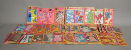 EX-SHOP STOCK: Forty one x Pedigree Sindy doll Outfit accessory sets (41).
