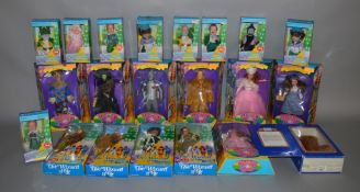 EX-SHOP STOCK: Twenty one Wizard Of Oz Dolls including 50th Anniversary examples and an Ideal