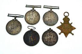 A quantity of first war medals