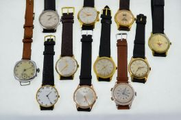 11 working mechanical wristwatches.
