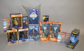 20 Doctor Who figures and memorabilia including collectors statues, Sonic Screwdriver Torches etc,