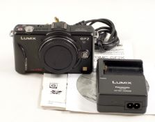 Panasonic Lumix GF2 Micro 4/3rds Mirrorless Digital Camera Body.