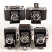 5 Ensign Rangefinder & Other Roll Film Cameras.