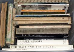 Photographic Books inc Ansel Adams & Cecil Beaton Monographs etc.