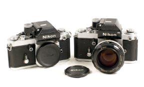 Nikon F2A & F2 Cameras.