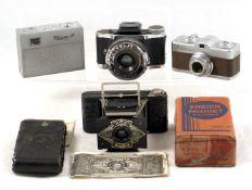 Eljy, Meopta & Other Sub Miniature Cameras.
