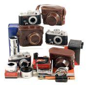 Robot Cameras & Accessories. To include Robot Star Junior CZ Tessar 30cm f2.