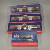OO Gauge. A boxed Bachmann Locomotive, 31-636 Class 64xx Pannier Tank 6417 BR black together ith