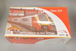 OO Gauge. A boxed Bachmann 32-626 Class 221 Virgin Super Voyager  5 car Tilt 'Louis Bleriot',